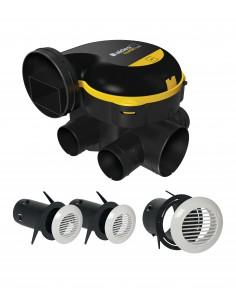 Kit EasyHOME Auto + Grilles de ventilation BIP