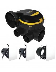Kit EasyHOME Auto + Grilles de ventilation ColorLINE