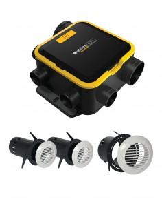 Kit EasyHOME Auto COMPACT + Grilles de ventilation BIP