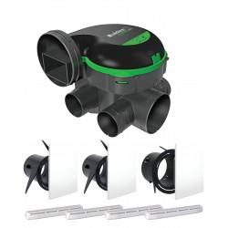 Kit EasyHOME PureAIR CLASSIC + Grilles de ventilation ColorLINE + Entrée d'air AirFILTER