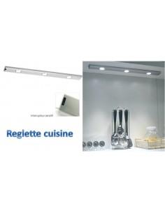 Réglette de cuisine à leds, éclairage sous-meuble de cuisine