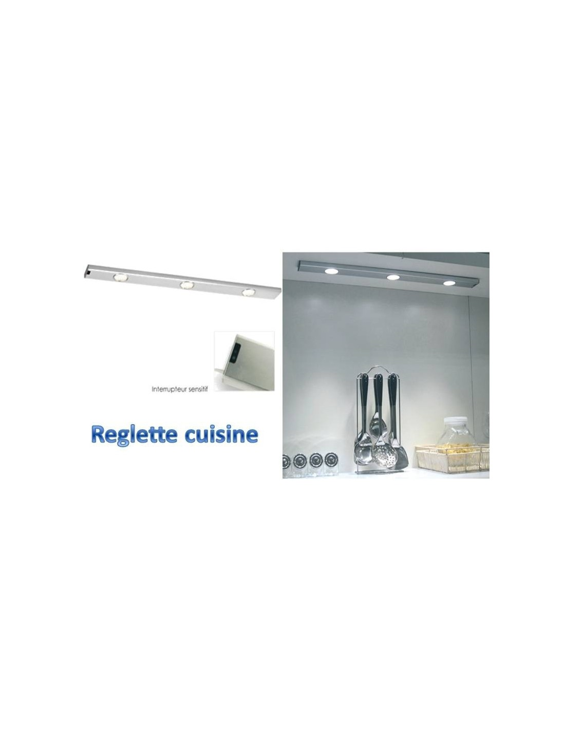 finest rglette de cuisine leds clairage sousmeuble de cuisine with luminaire meuble cuisine. Black Bedroom Furniture Sets. Home Design Ideas