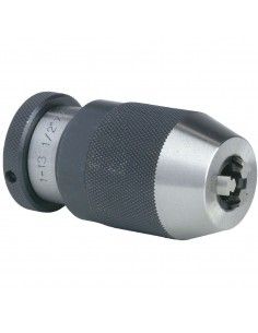 Mandrin auto-serrant métallique 1/2 x 20 unf  capacité (mm) 1,5- 13 mm  femelle