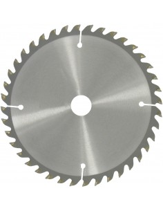 Lame au carbure pour scie circulaire 190 ø (mm) dents 40 alésage (mm) 30 / 20 / 16 epaisseur (mm) 2,8