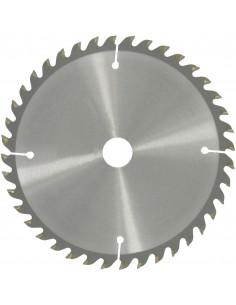 Lame au carbure pour scie circulaire 210 ø (mm) dents 40 alésage (mm) 30 / 16 epaisseur (mm) 3