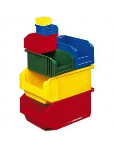 Bac plastique empilable vg 23 l 315 x 200 x 500 vert