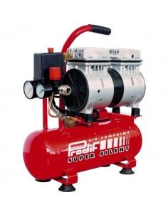 Compresseur silencieux 6 litres 0.75cv débit d4air aspir2 100l/m