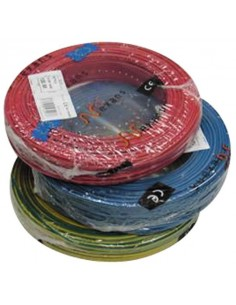 Fil rigide 1.5 mm2, bobine 100 M, H07VU-VR, 7 couleurs