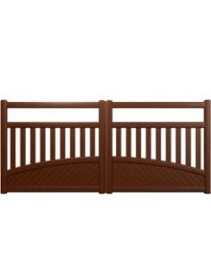 portail aluminium standard portail petit prix portail cloture portail et. Black Bedroom Furniture Sets. Home Design Ideas