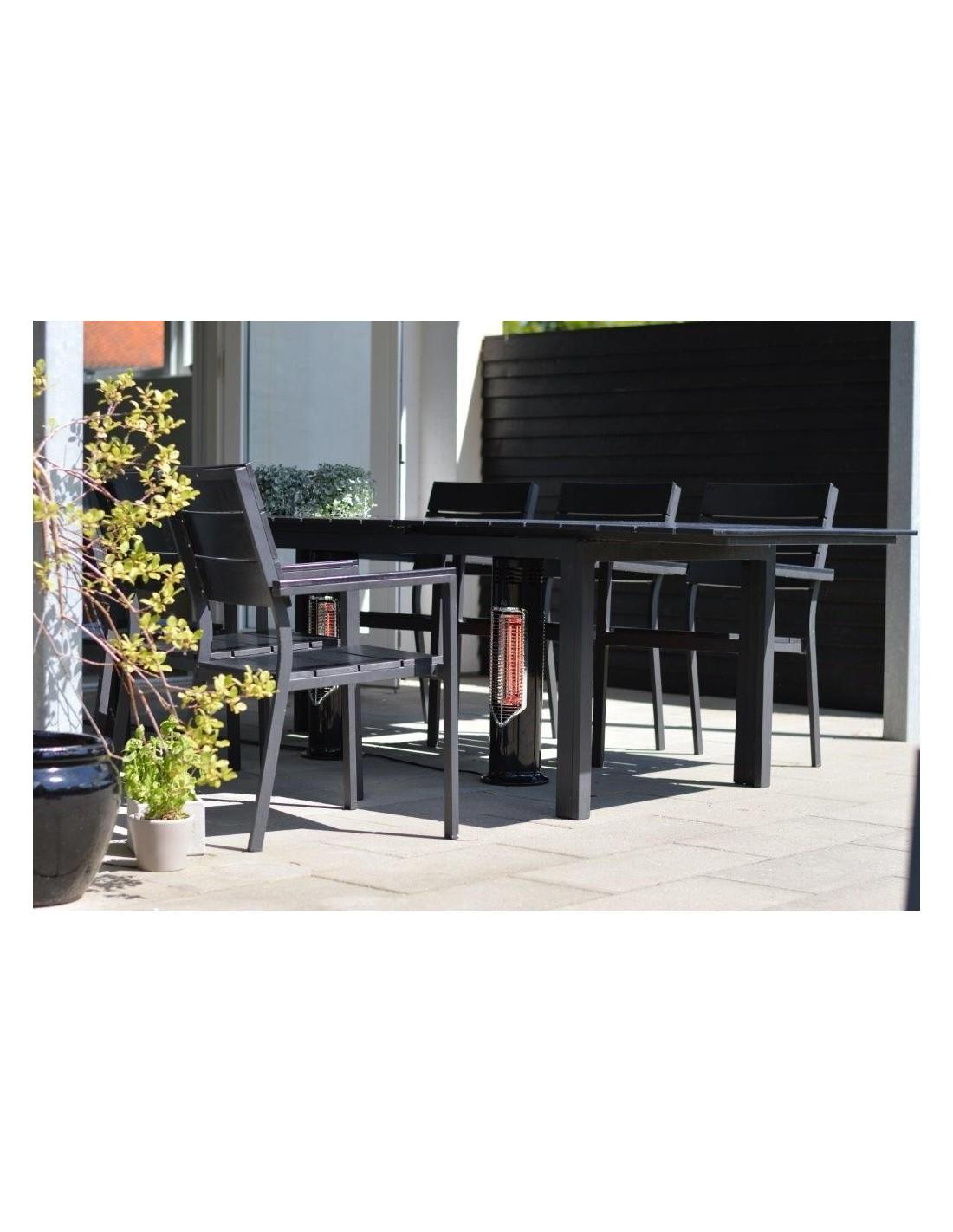 chauffage terrasse ext rieur portable lectrique chaleur infrarouge ebay. Black Bedroom Furniture Sets. Home Design Ideas