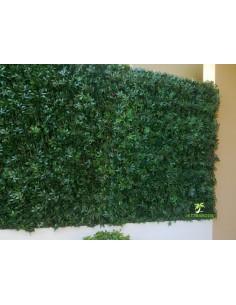 Treillis de vigne vierge verte artificiel 1.00m x 2.00m