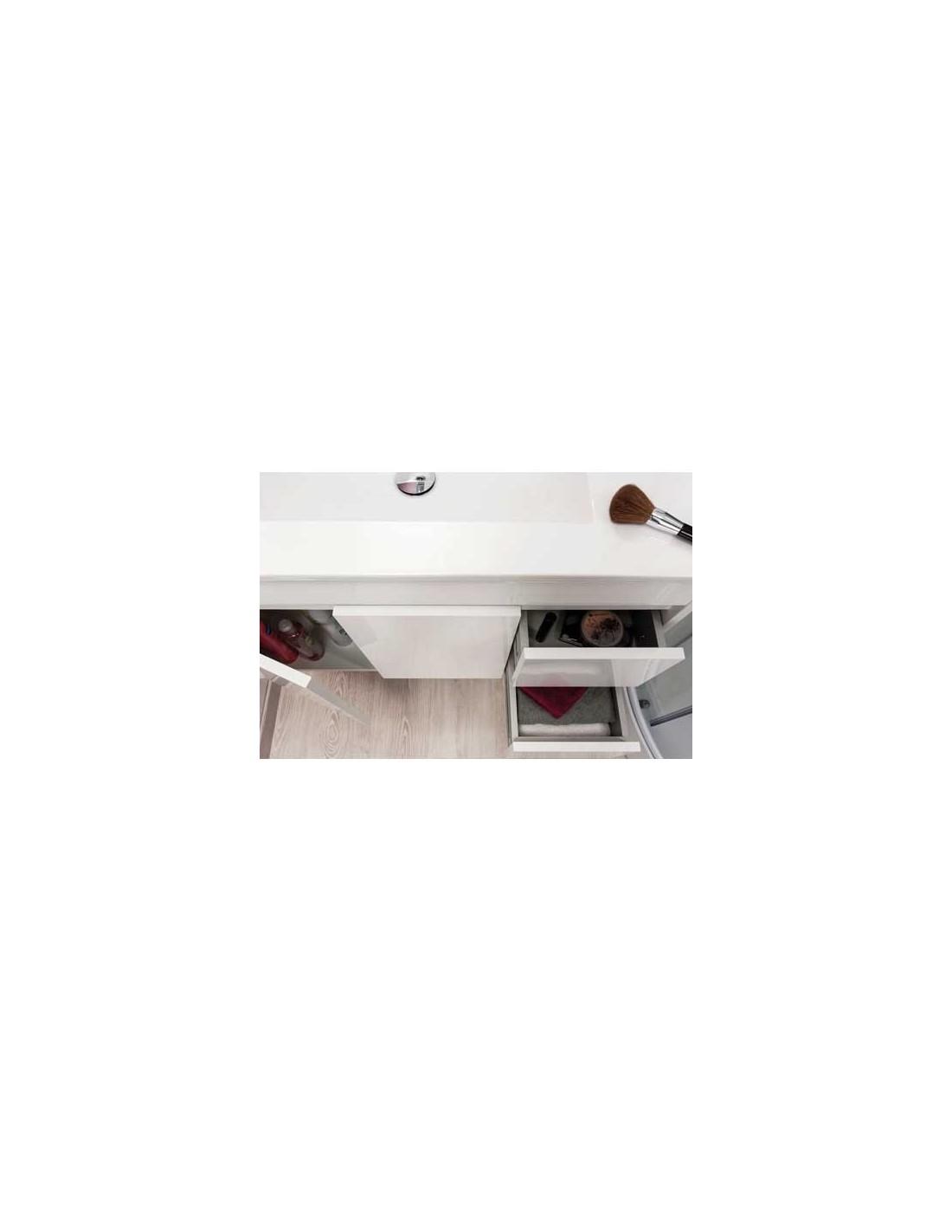 Meuble de salle de bains 60 cm a suspendre lumpur - Meuble de salle de bain 60 cm ...