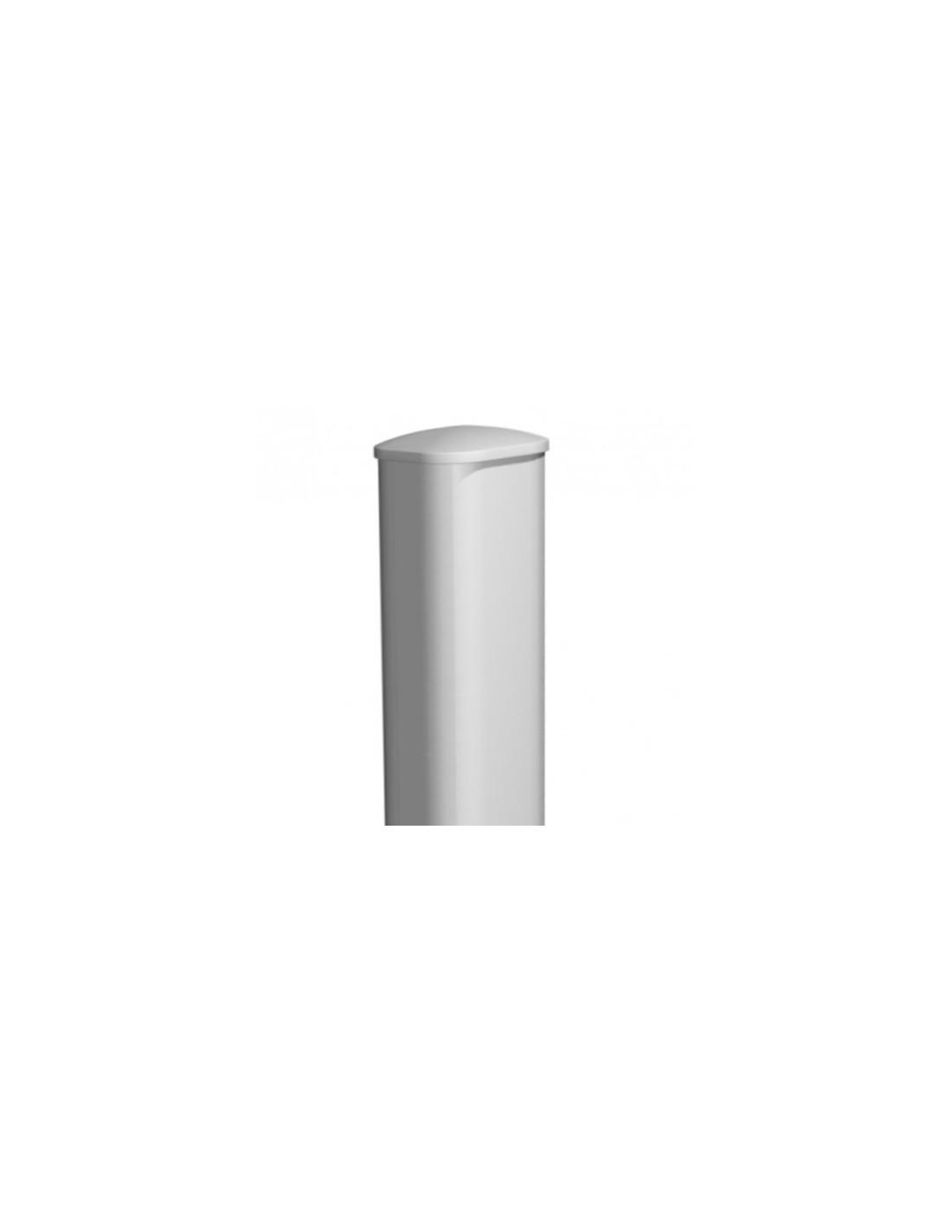 Poteau pilier de portail pvc 200x200 for Portail pvc electrique