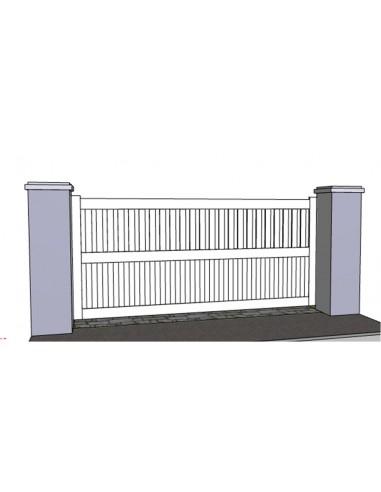 portail pvc coulissant narbonne 3m 5m sur mesure. Black Bedroom Furniture Sets. Home Design Ideas
