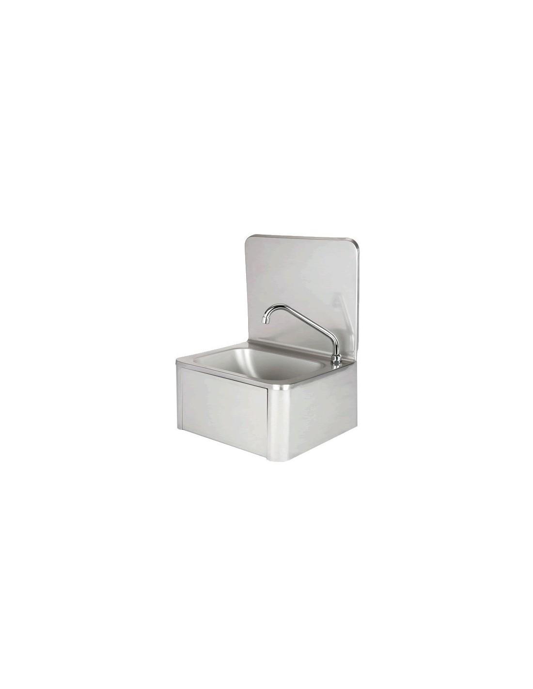 evier en inox lave mains avec robinet et distributeur. Black Bedroom Furniture Sets. Home Design Ideas