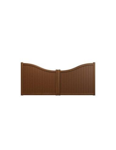 portail battant plein droit 3000x1200. Black Bedroom Furniture Sets. Home Design Ideas