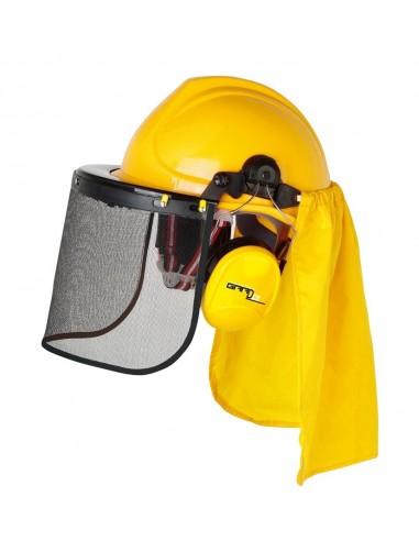 Kit de protection pour debroussailleuse, tonte et travaux de jardin