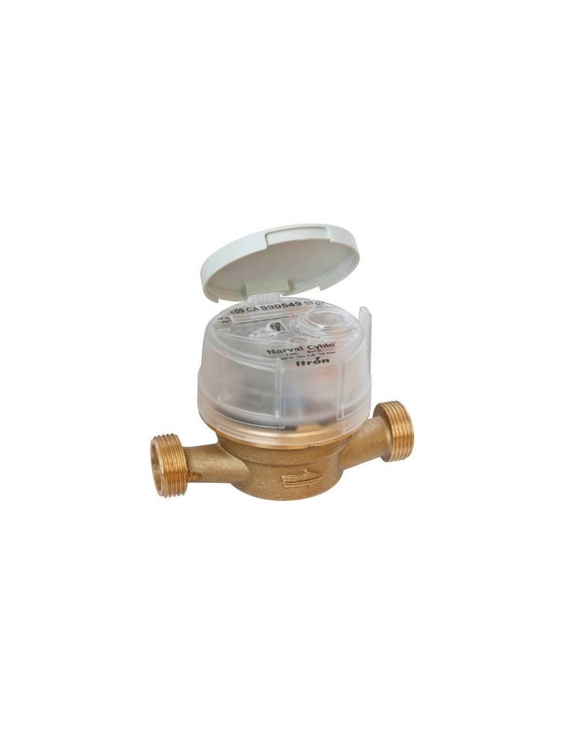 Compteur d 39 eau froide 20x27mm lg 110mm narval - Compteur eau froide ...