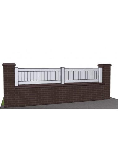 clot re aluminium droite pleine. Black Bedroom Furniture Sets. Home Design Ideas