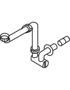 Vidage gain de place pour lavabo PMR PORCHER