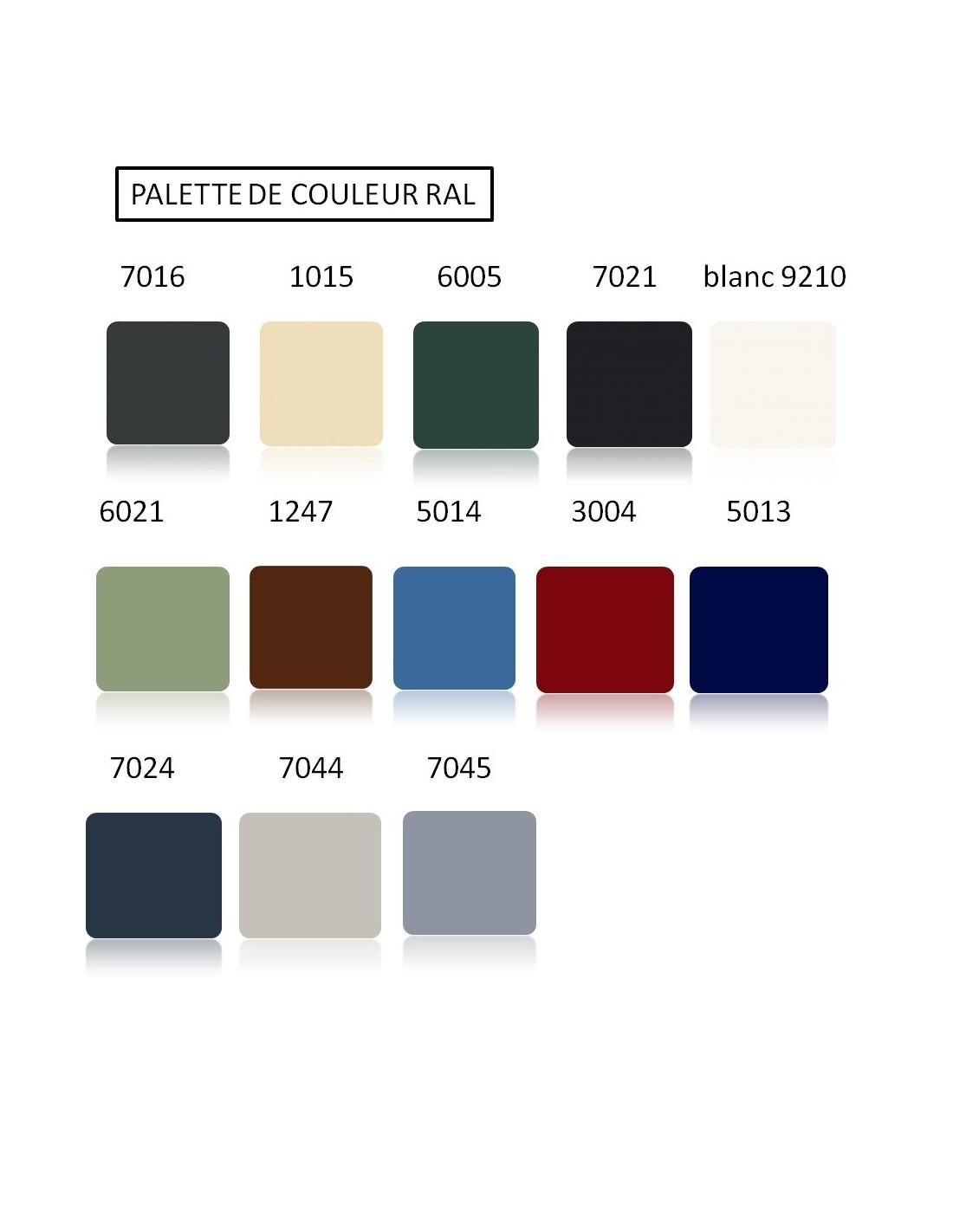 portail aluminium bayonne gris standard semi ajoure chapeau de gendarme largeur x. Black Bedroom Furniture Sets. Home Design Ideas