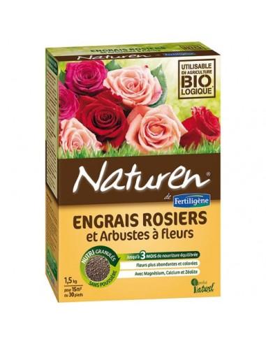 Engrais rosiers naturen for Engrais 3 fois 15
