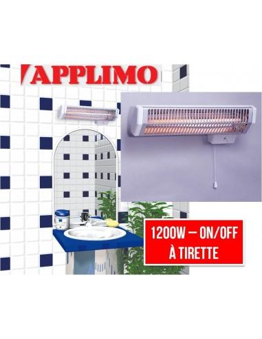 Chauffage infrarouge salle de bain darty appareils for Radio salle de bain darty