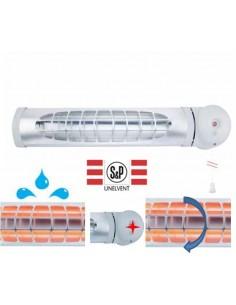 Chauffage infrarouge 1200w Unelvent salle de bains