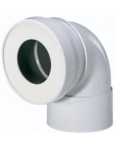 Pipe WC Femelle Courte 90° diamètre 100