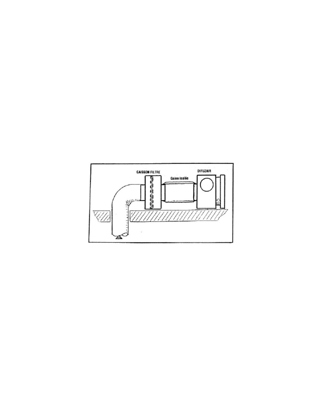 caisson filtre difuzair pour r cup rateur air chaud. Black Bedroom Furniture Sets. Home Design Ideas