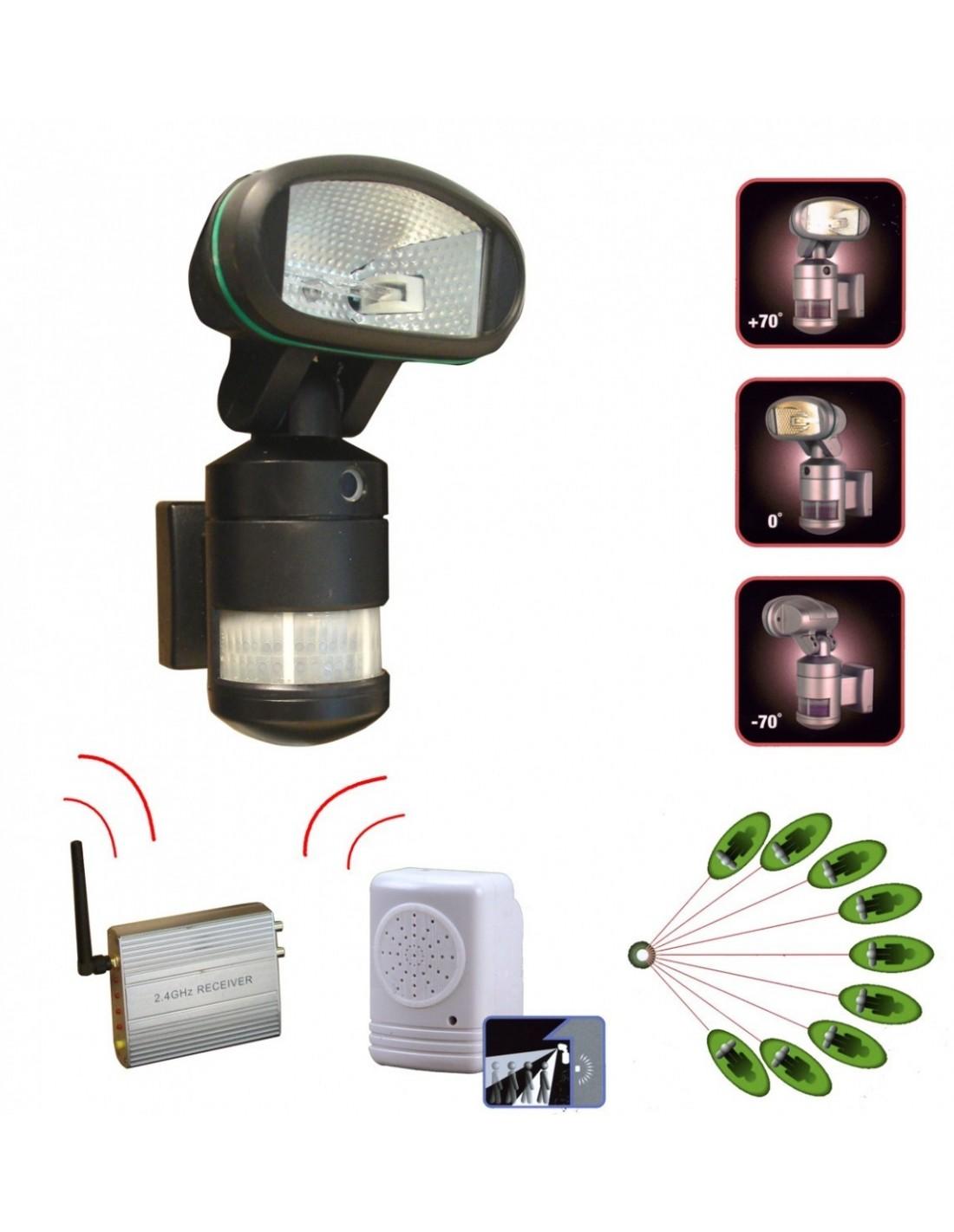 Projecteur alarme et cam ra d tecteur de mouvement - Camera detecteur de mouvement ...