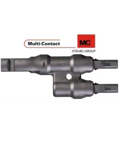 """Connecteur de dérivation """"y"""" mc4 femelle-male-male"""