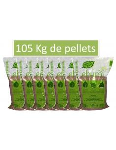 Sac de Pellets - granulés bois - 105 Kgs
