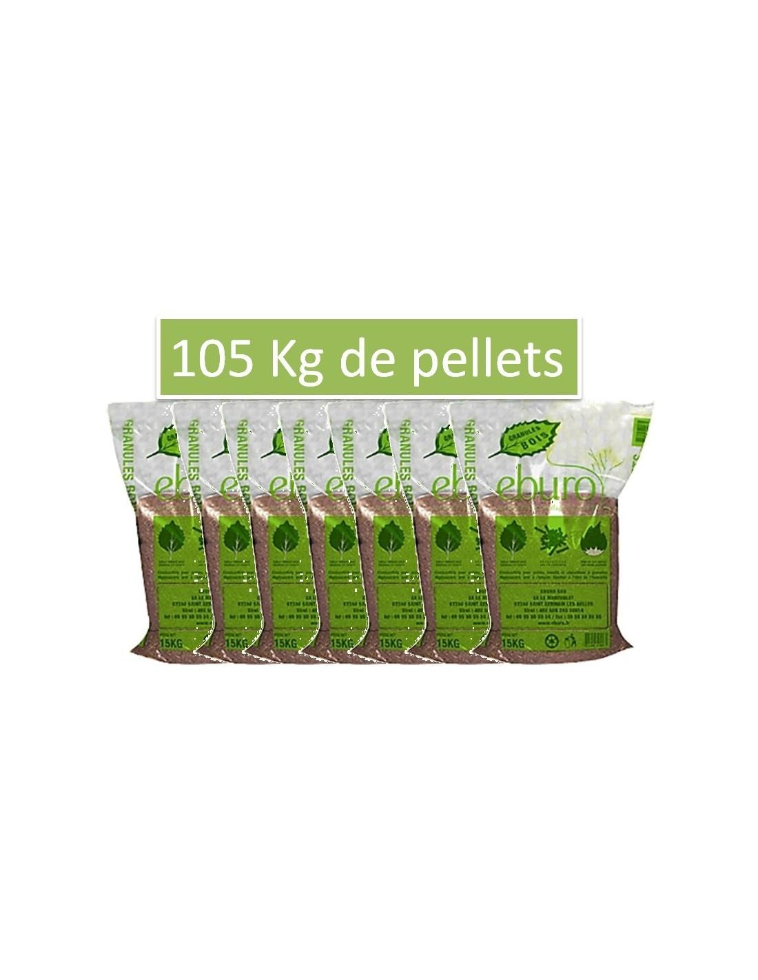 7 sacs de pellets 150 kgs de granul s bois - Sac a granule ...
