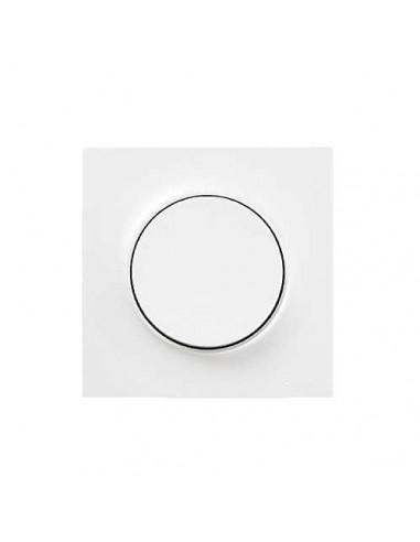 plaque blanche odace schneider electric 1 poste. Black Bedroom Furniture Sets. Home Design Ideas