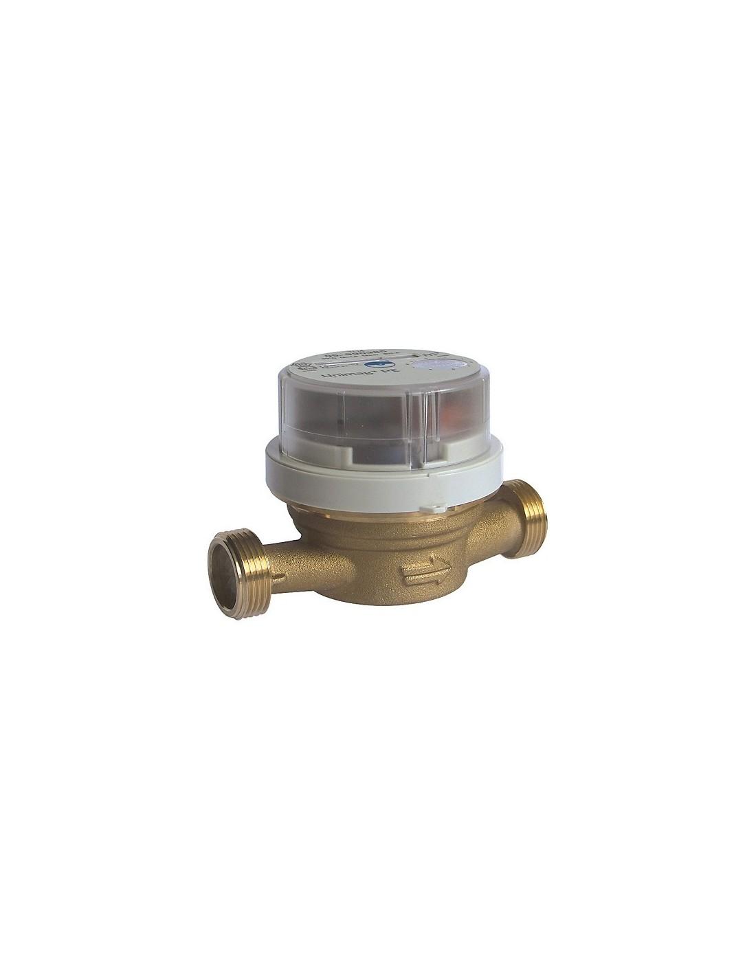 Compteur d 39 eau froide 20x27mm lg 110mm tu4 - Compteur eau froide ...