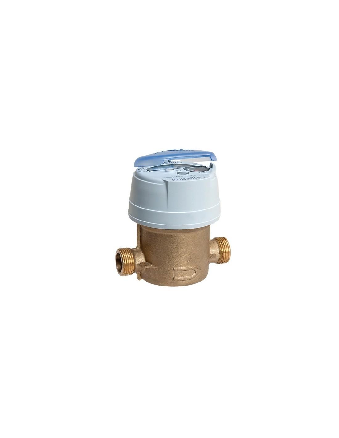 Compteur d 39 eau froide 20x27mm aquadis - Compteur eau froide ...