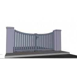 technal portail et cloture haut de gamme. Black Bedroom Furniture Sets. Home Design Ideas