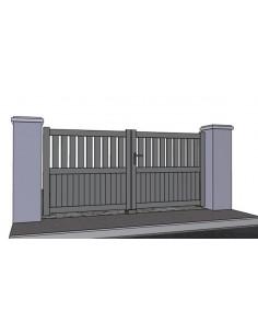Technal portail et cloture haut de gamme portail et for Portail coulissant 2m50
