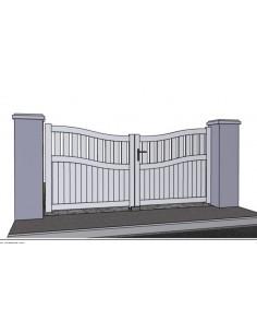 Technal portail et cloture haut de gamme 2 portail for Portail largeur 2m50