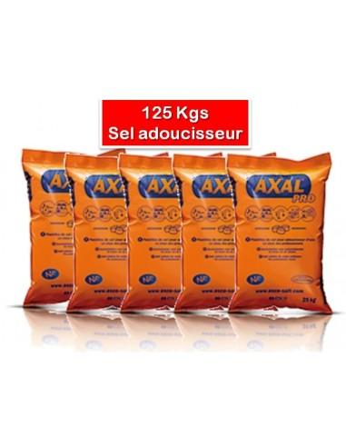 5 sac de 25 kg de sel pour adoucisseur d 39 eau axal - Sel adoucisseur axal ...
