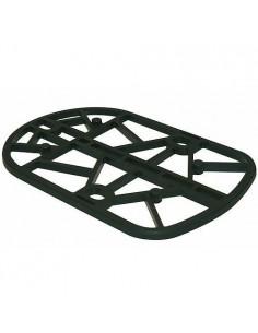 Sabot de portail noir en polyamide