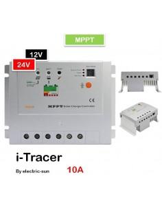 "Régulateur ""i-tracer"" mppt 12v/24v 10a"