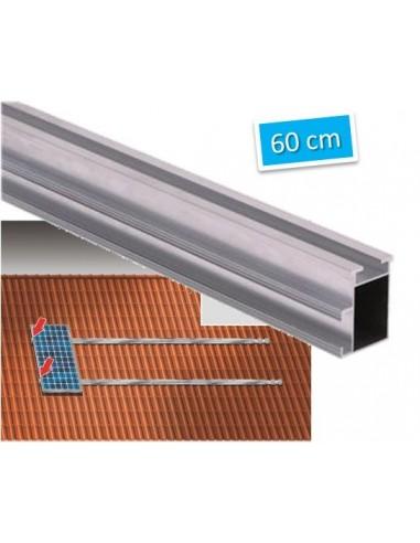 rail de fixation 60cm pour panneau solaire en toiture. Black Bedroom Furniture Sets. Home Design Ideas