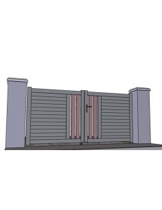 portail haut de gamme portail haut de gamme portail battant en aluminium haut de gamme arcachon. Black Bedroom Furniture Sets. Home Design Ideas
