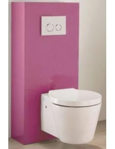 meuble d 39 habillage wc suspendu fuschia pour duofix up320. Black Bedroom Furniture Sets. Home Design Ideas