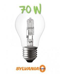 Ampoule halogène 70w 230v e27 eco classic standard
