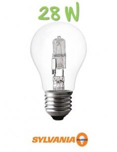 Ampoule halogène 28w 230v e27 eco classic standard