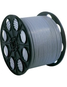 H05 vv-f mètré 1,5 mm² vg touret 3g 1,5 mm² gris 350