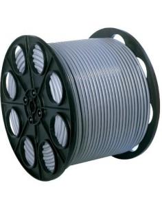 H05 vv-f mètré 1,5 mm² vg 1/2 touret 3g 1,5 mm² gris 125